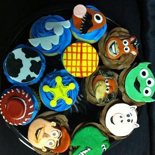 Toy Story Cupcakes - Cake by cakesbymary