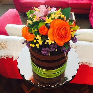 Sugar paste flowers