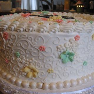 Scrolls Cake