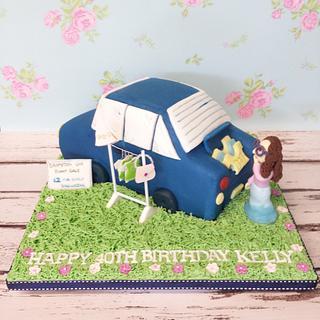 Boot Fair cake
