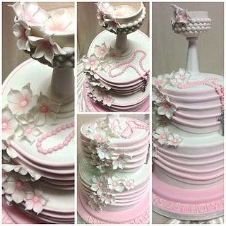 First Holy Communion Cake - Cake by Laura Evans