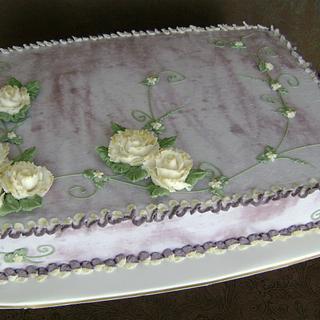 Gilded Rose Misty Mauve Sheet