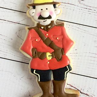 Mountie - Cake by paula0712