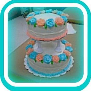 Wilton Course 4 Wedding Cake