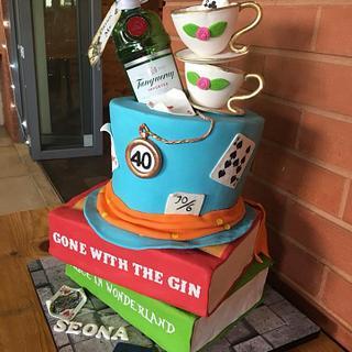 Madhatters G n Tea - Cake by Rhona