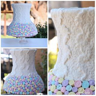 Pastel Pretty! - Cake by SugarBritchesCakes