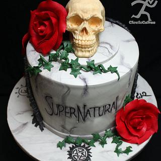 Based on the Supernatural TV Program - All Edible - Cake by Ciccio