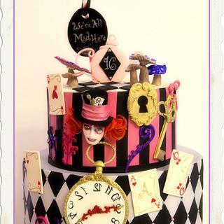 Madhatter Cake - Cake by Vanilla Studio
