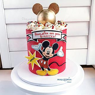Mickey Mouse Cake for MAW - Cake by Dozycakes