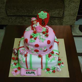Strawberry Shortcake - Cake by MySignatureCakes