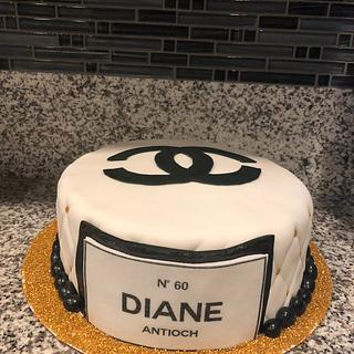 Chanel Cake and cupcakes