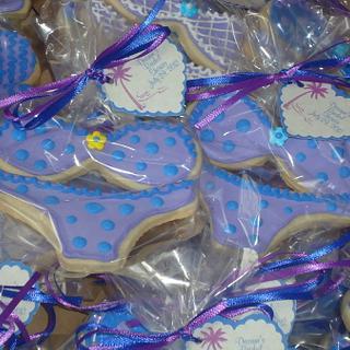 Bikini Cookies - Bridal Shower