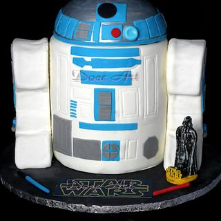 R2D2 - Cake by Magda Martins - Doce Art