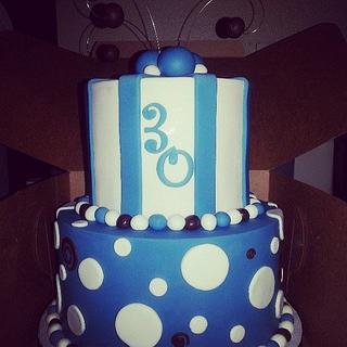 Justin's 30th Birthday Cake