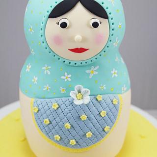 Babushka Doll - Cake by Jo Kavanagh