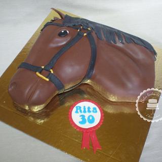 Horse cake - Cake by Gabriela Lopes (Bolos lindos de comer)