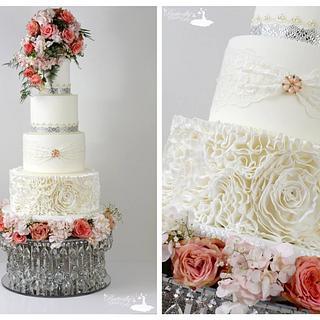 Wedding fair cake  - Cake by Julie