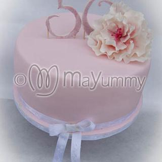 50th birthday - Cake by Mayummy