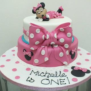 Minnie for Michelle - Cake by Valory