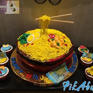 Indomie cake