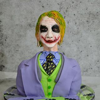 Joker cake - Cake by Aarthi