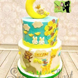 Moon boy  - Cake by Sweet Art