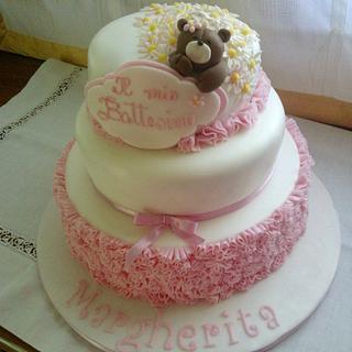 Christening cake.... - Cake by Roberta Romano