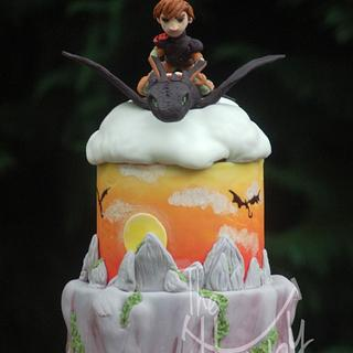 How to train you dragon 2 - Cake by Shannon Davie