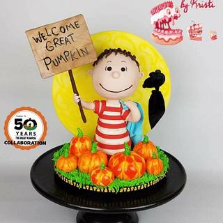 The Great Pumpkin Cake Collaboration: Linus
