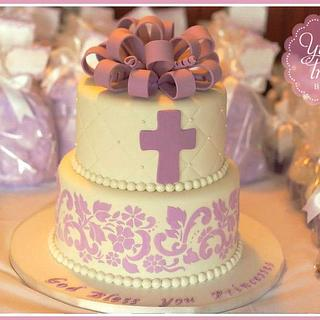 Baptism Cake!