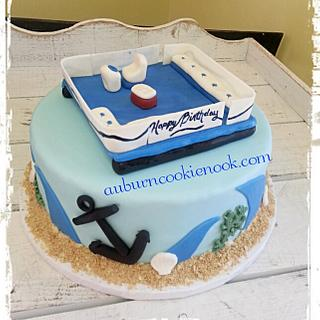 Pontoon Cake - Cake by Cookie Nook