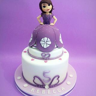 Principessa Sofia Cake