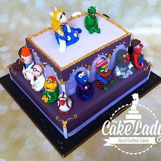 The Muppets Wedding Cake
