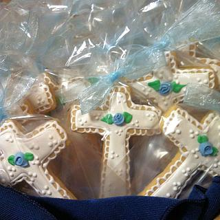 Christening Cookies - Cake by Ansa