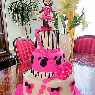 Cake design Minnie Mouse fashion