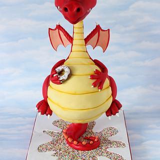 my dragon cake