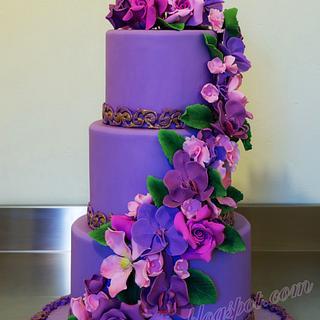 Violet cake!