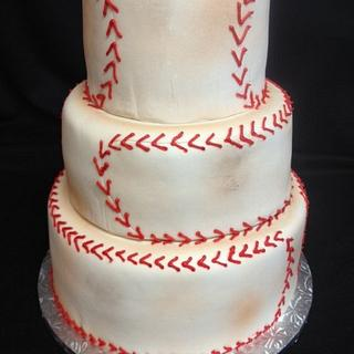 """Dirty"" baseball"