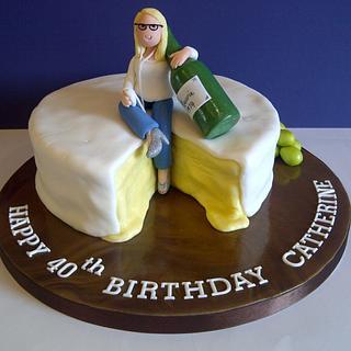 Cheese & Wine... and cake!