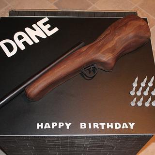 My Very First Rifle Cake!