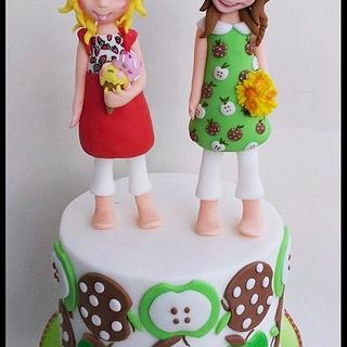 Summer fun  - Cake by Time for Tiffin