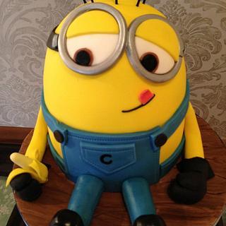Minion cake - Cake by Nina Stokes