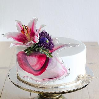 Cake for women  - Cake by CakesByMisa