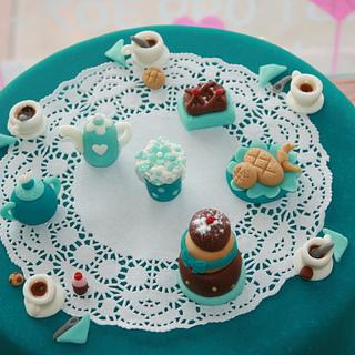 Tea Time Cake - Cake by Pims Cake Design