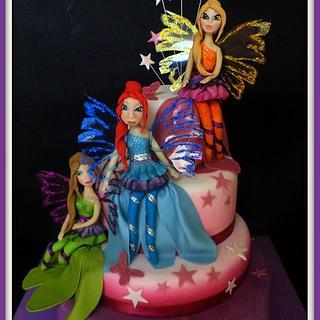 sirenix cake