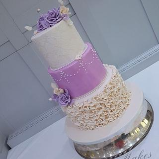 Wedding cake - Cake by Cakes of Art by Vicky