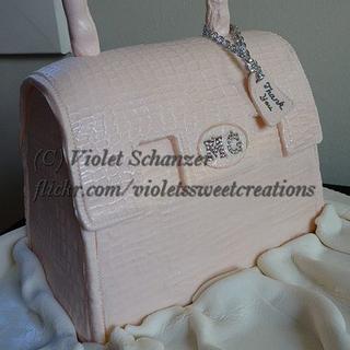 Handbag cake - Cake by Violet Schanzer