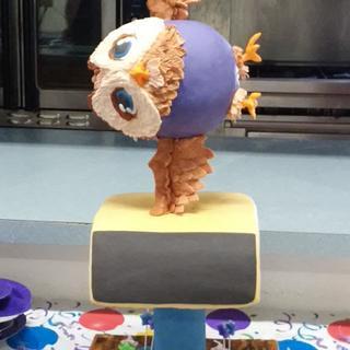 Owl Gymnast