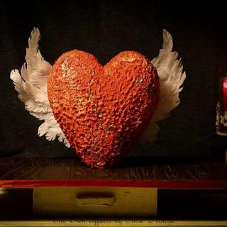 """""""Let your Heart flutter"""" - Cake by Elma Augustin"""