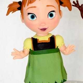 Disney Frozen - Baby Anna and Olaf